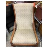 VTG UPHOLSTERED ROCKING CHAIR