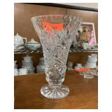 AMERICAN BRILLIANT CRYSTAL VASE
