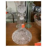LARGE CRYSTAL DECANTER