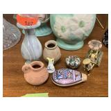 LARGE LOT OF POTTERY PIECES / CHINA / RICKSHAW