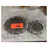 900 SILVER HAND MIRRORS