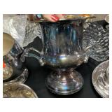 LARGE SILVERPLATE ICE BUCKET