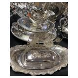 LARGE LOT SILVERPLATE