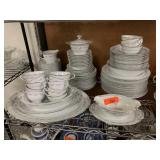 LARGE LOT OF NORITAKE CHINA DONNA PATTERN
