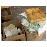 LARGE LOT OF LINENS AND MORE