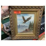 ORIGINAL PAINTING / EAGLE W. AMADIO
