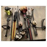 LARGE LOT OF TRIMMERS / MORE AND PARTS