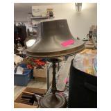 VTG BRASS BELL SHAPED LAMP