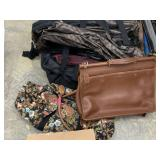 LOT OF VARIOUS BAGS / COACH BRIEFCASE MORE