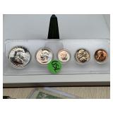 1960 SILVER PROOF COIN SET