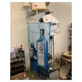 BOMBAY SAPPHIRE HANGING ADVERTISEMENT / MAN CAVE