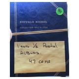 47 BUFFALO NICKELS IN ALBUMS