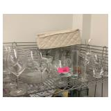 VERY LARGE LOT OF GLASSWARE
