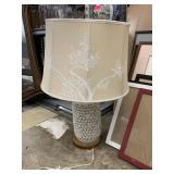 JAPANESE CHERRY TREE LATTICE LAMP