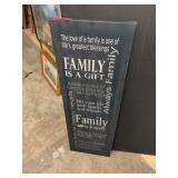 FAMILY CANVAS WALL ART