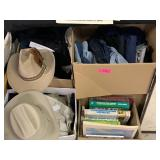 LARGE BOXES OF BIG AND TALL MENS CLOTHES MORE