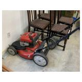 TROY BILT SELF PROP LAWNMOWER WORKS AND RUNS