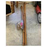 LOT OF DRAPERY RODS