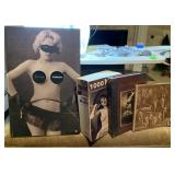 LOT OF 4 RISQUE NUDE PHOTO BOOKS SOME ARE....WOW