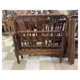 VTG TWIN HEADBOARD W RAILS
