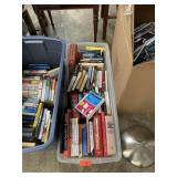 BIN OF BOOKS