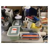 LARGE LOT OF KITCHEN AND MISC