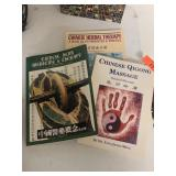 LOT OF CHINESE MEDICAL BOOKS