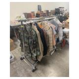 LARGE LOT OF CLOTHES (NOT RACK)