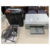 LOT OF ELECTRONICS PRINTER/ SHREDDER MONITOR