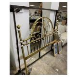 BRASS BED W FRAME / FULL