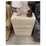 SMALL 4 DRAWER DRESSER / NIGHT STAND