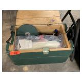 AMMO WOOD CRATE W MISC TOOLS AND MORE