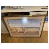 LARGE FRAMED PRINT