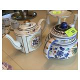 2PC TEAPOT LOT / ARTHUR WOOD MORE
