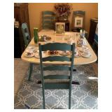 VTG DUNCAN PHYFE DINING TABLE W LEAVES