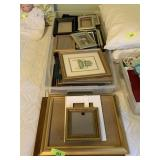 LARGE LOT OF FRAMES AND MISC