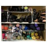 EXTREMLY LARGE LOT OF SHOES SZ 8-9