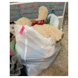 LARGE BAG OF TOYS AND STUFFED ANIMALS