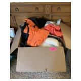 LARGE BOX OF MISC CLOTHES