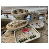 LOT OF PORTMERION DISHES / MISC