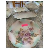 LOT OF CHINA /SERVING PLATTERS / MORE