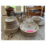 LARGE LOT OF OLD IVORY SYRACUSE CHINA