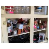 CONTENTS OF SHELF / LOT OF FOOD