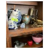 SHELVES OF COLLECTIBLES / DECOR