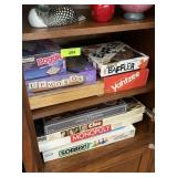 LARGE LOT OF BOARD GAMES AND MISC