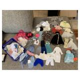 LARGE LOT OF VTG DOLL CLOTHES