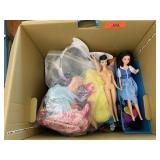 LOT OF VTG BARBIE DOLLS / TOYS AND MISC