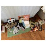 LOT OF DOG RELATED ITEMS
