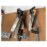 LOT OF SAWS / HAND SAWS
