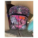 MONSTER HIGH BACKPACK W TOYS